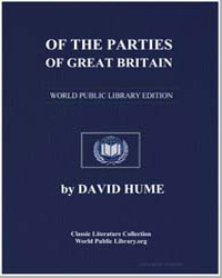 Of the Parties of Great Britain by Hume, David
