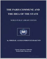 The Paris Commune and the Idea of the St... by Bakunin, Mikhail