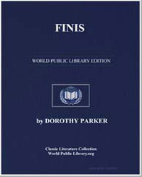 Finis by Parker, Dorothy