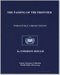 The Passing of the Frontier by Hough, Emerson