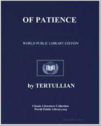 Of Patience by Tertullian
