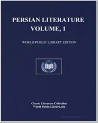 Persian Literature, Volume 1, Comprising... by