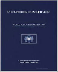 An Online Book of English Verse by Hutchinson, Joshua