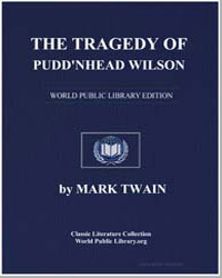 The Tragedy of Puddnhead Wilson: And the... by Twain, Mark