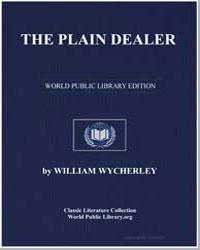 The Plain Dealer by Wycherley, William