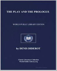 The Play and the Prologue by Diderot, Denis