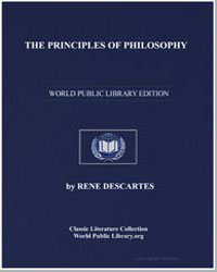 The Principles of Philosophy by Descartes, René