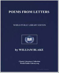 Poems from Letters by Blake, William