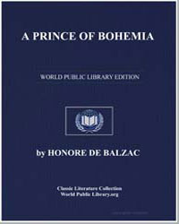 A Prince of Bohemia by De Balzac, Honore