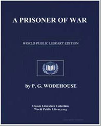 A Prisoner of War by Wodehouse, Pelham Grenville