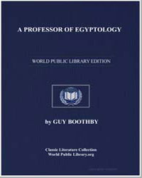 A Professor of Egyptology by Booth, Guy