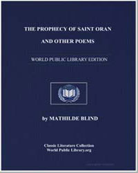 The Prophecy of Saint Oran and Other Poe... by Blind, Mathilde