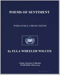 Poems of Sentiment by Wilcox, Ella Wheeler