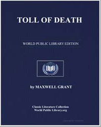 Toll of Death by Grant, Maxwell