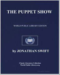 The Puppet Show by Swift, Jonathan