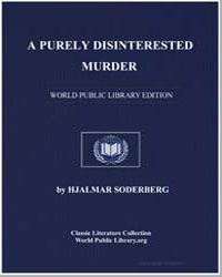 A Purely Disinterested Murder by Soderberg, Hjalmar