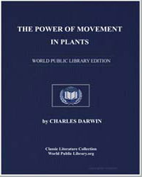 The Power of Movement in Plants by Darwin, Charles