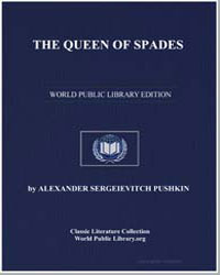 The Queen of Spades by Pushkin, Alexander