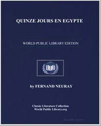 Quinze Jours en Egypte by Neuray, Fernand