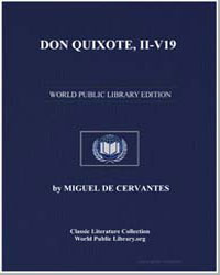Don Quixote, Iiv19, Illustrated by De Cervantes, Miguel