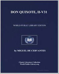Don Quixote, Iiv31, Illustrated by De Cervantes, Miguel