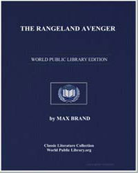 The Rangeland Avenger by Brand, Max
