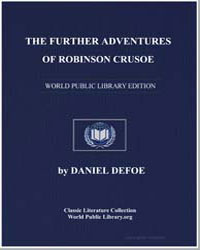 The Further Adventures of Robinson Cruso... by Defoe, Daniel