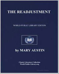 The Readjustment by Austin, Mary