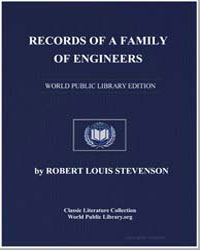 Records of a Family of Engineers by Stevenson, Robert Louis