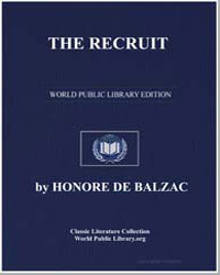 The Recruit by De Balzac, Honore