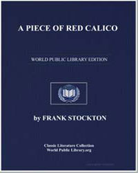 A Piece of Red Calico by Stockton, Frank Richard