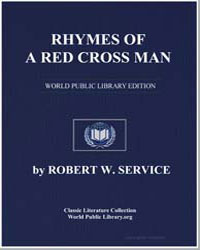 Rhymes of a Red Cross Man by Service, Robert W. (Robert William)