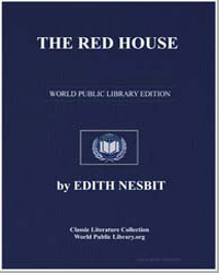 The Red House by Nesbit, Edith
