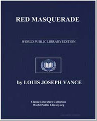 Red Masquerade by Vance, Louis Joseph