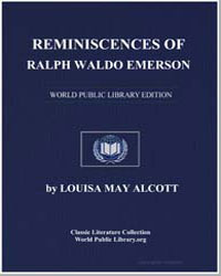 Reminiscences of Ralph Waldo Emerson by Alcott, Louisa May