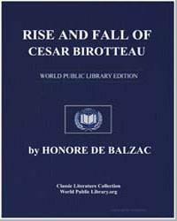Rise and Fall of Cesar Birotteau by De Balzac, Honore