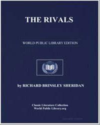 The Rivals by Sheridan, Richard Brinsley