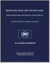 Romantic Ballads Translated from the Dan... by Borrow, George