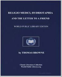 Religio Medici : Hydriotaphia : And the ... by Browne, Thomas, Sir