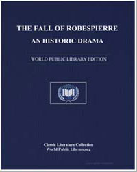 The Fall of Robespierre, An Historic Dra... by Coleridge, Samuel Taylor