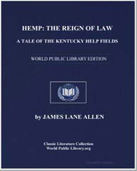 Hemp : The Reign of Law : A Tale of the ... by Allen, James Lane