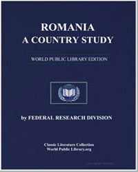 Romania, A Country Study by Mortimer, Louis R.