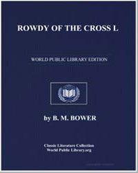 Rowdy of the Cross L by Bower, Bertha Muzzy