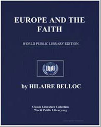 Europe and the Faith by Belloc, Hilaire