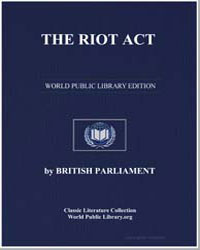 The Riot Act by Walther, Jonathan