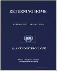 Returning Home by Trollope, Anthony
