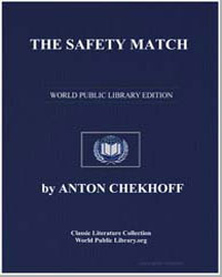 The Safety Match by Chekhov, Anton Pavlovich