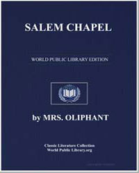 Salem Chapel by Oliphant, Margaret