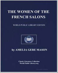 The Women of the French Salons by Mason, Amelia Gere