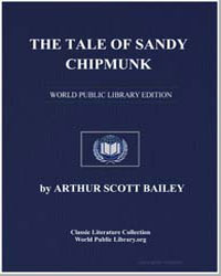 The Tale of Sandy Chipmunk by Bailey, Arthur Scott